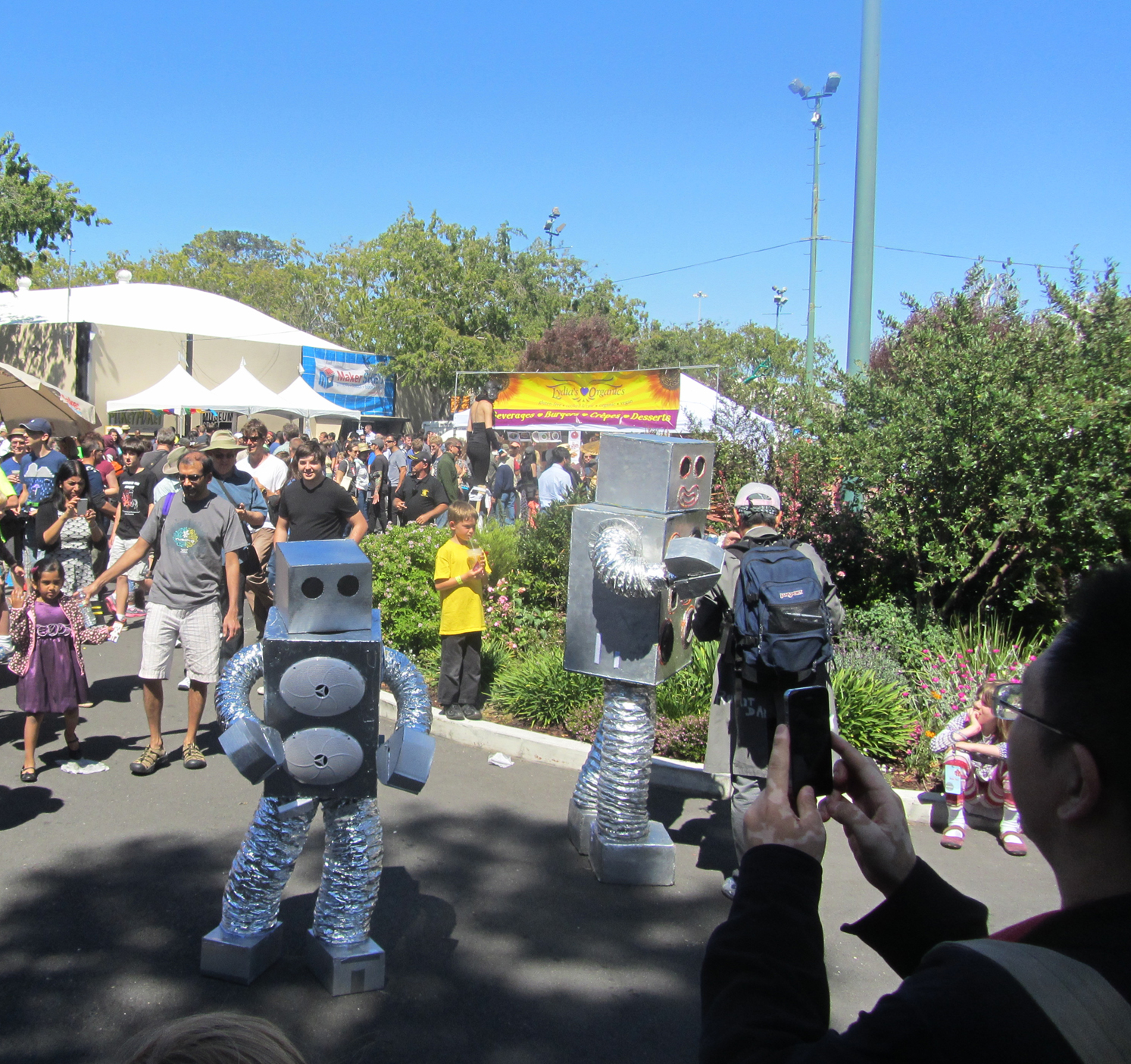 Robots! - Maker Faire Bay Area 2013