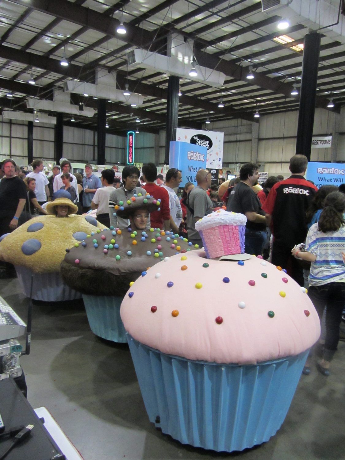 Cupcake People: Maker Faire Bay Area 2013