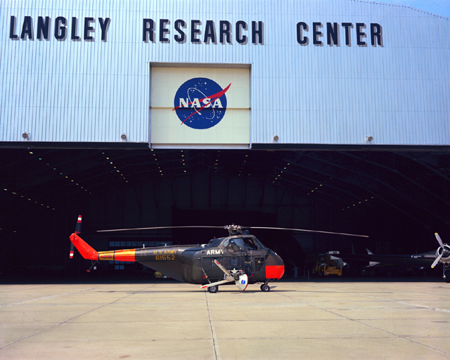 Space History Photo: Sikorsky JH-19D Chickasaw Helicopter