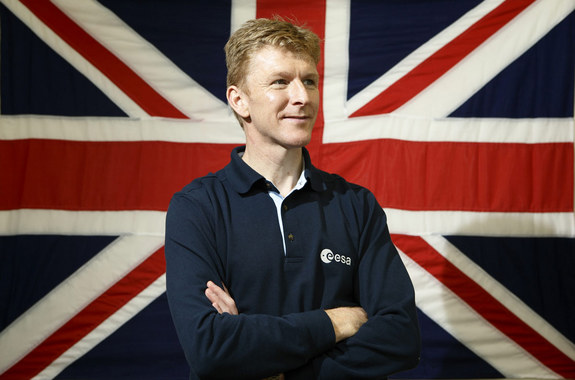 British astronaut Tim Peake joined the European Space Agency's astronaut corps in 2009.
