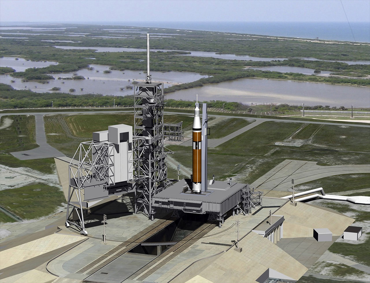 NASA to Lease Historic Launch Pad for Commercial Rocket Missions