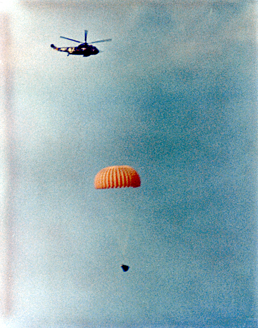 Image result for gemini 12 splashdown