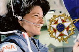 Astronaut Sally Ride, the United States' first woman in space, will be posthumously awarded the Presidential Medal of Freedom during a ceremony at the White House in 2013.