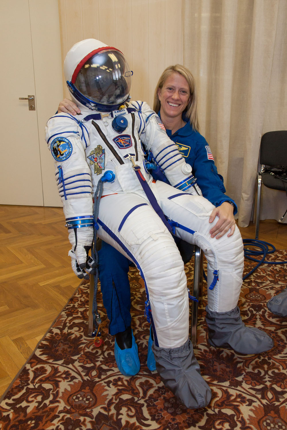Have Spacesuit, Will Travel: Karen Nyberg