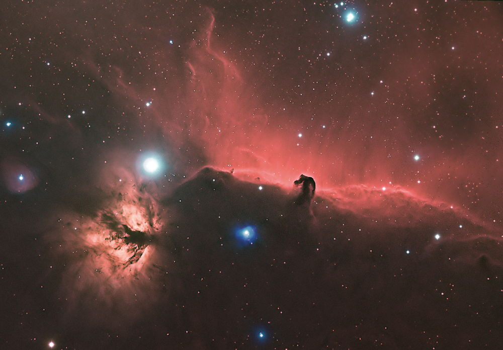 Horsehead Nebula Imaged in Florida