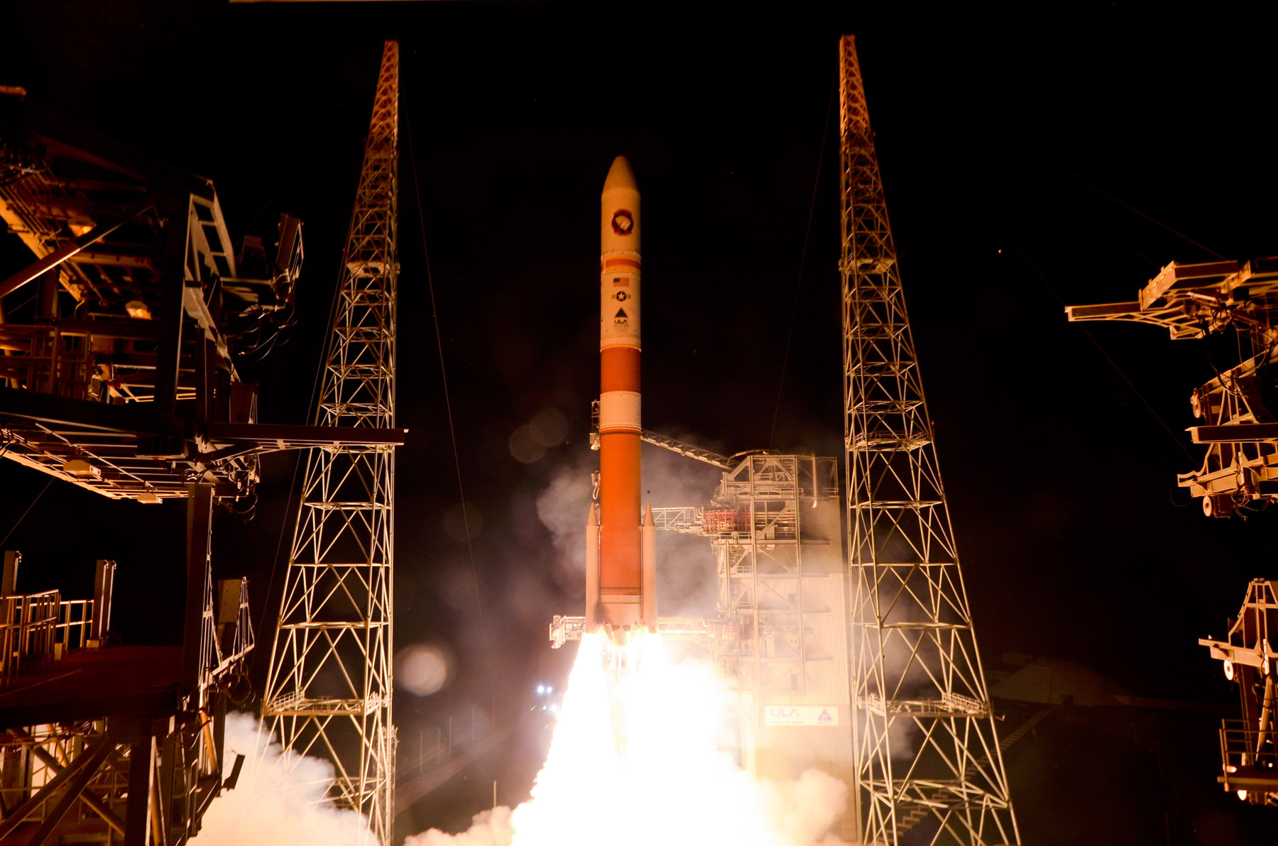 Delta 4 Rocket Launch: WGS-5 Satellite