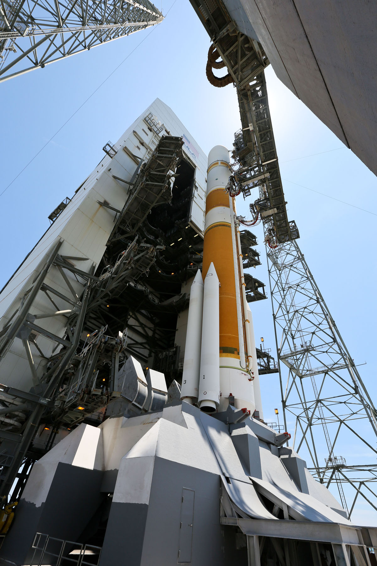 ULA Delta 4 Rocket Primed for WGS-5 Launch