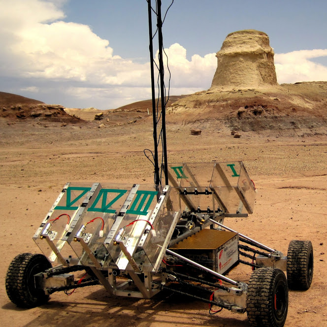 Student-Built Robots to Race in Mock Mars Rover Challenge