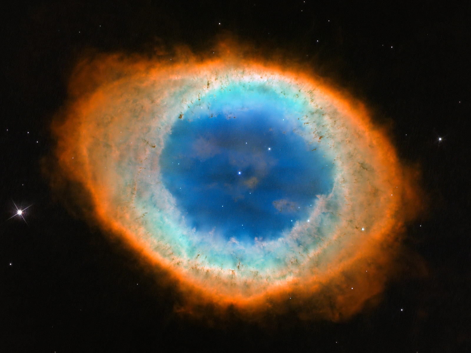 Ring Nebula Messier 57 1600 space wallpaper