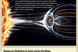 "Humans traveling beyond the protection of Earth's atmosphere and magnetic field risk radiation-caused cancers and other diseases. <a href=""http://www.space.com/21353-space-radiation-mars-mission-threat.html"">See how space radiation threatens astronauts in this full infographic</a>."