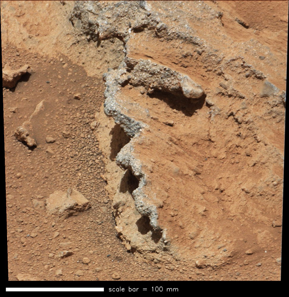Mars Rover Curiosity Finds Pebbles Likely Shaped by Ancient River