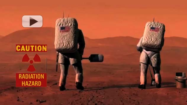 Will Radiation Kill Mars Astronauts? | Video