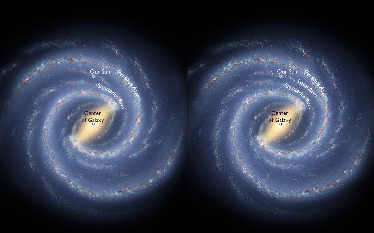 Milky Way's Local Arm Larger Than Previously Thought