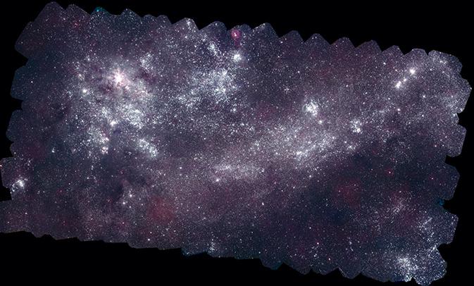 Milky Way Neighbor Galaxies Get Amazing Portraits in UV