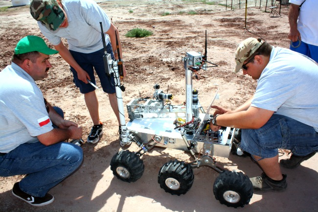 Polish Students Design Best Mars Rover of 2013