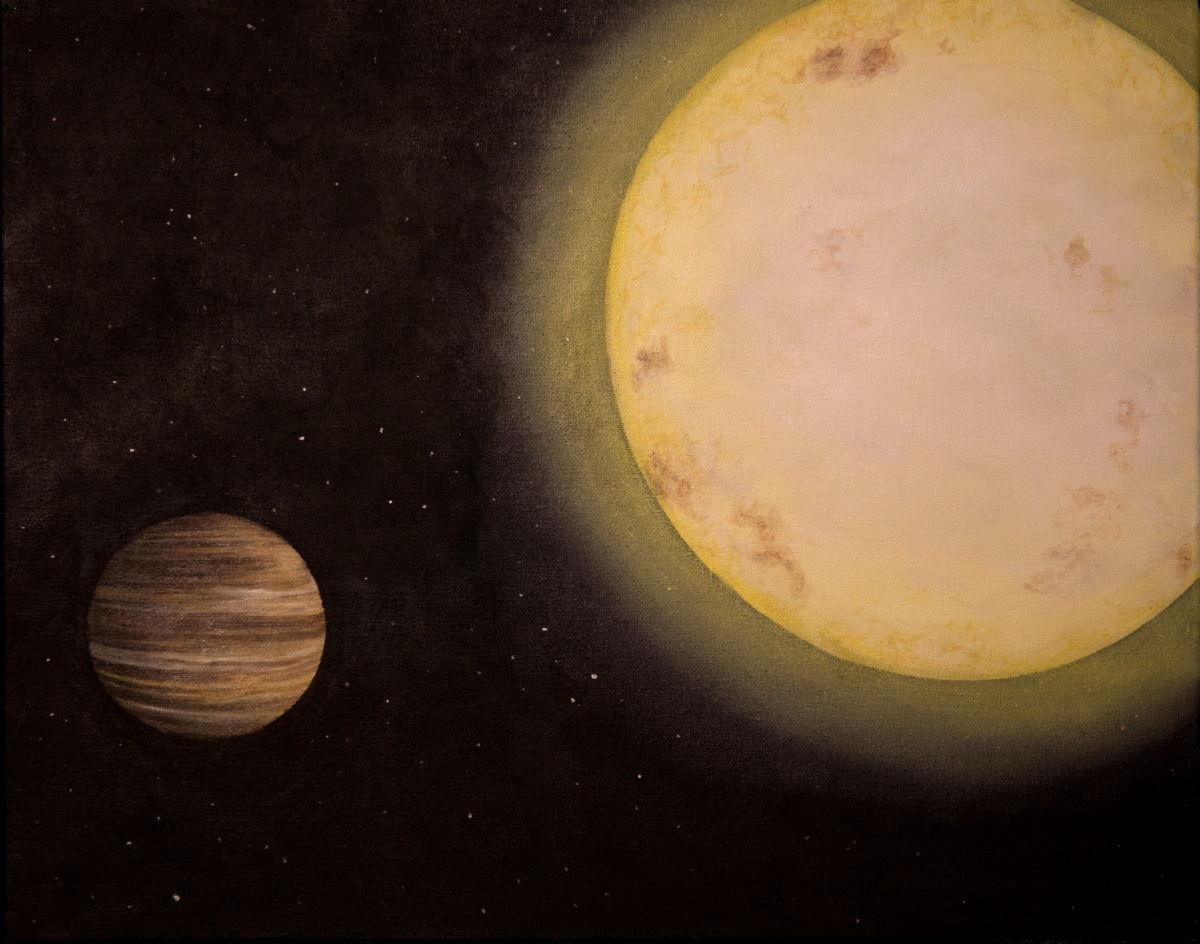 Saturn-Like Alien Planet Found by Little Telescope