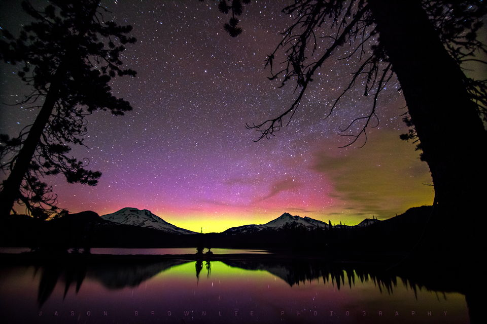 Aurora Over Oregon