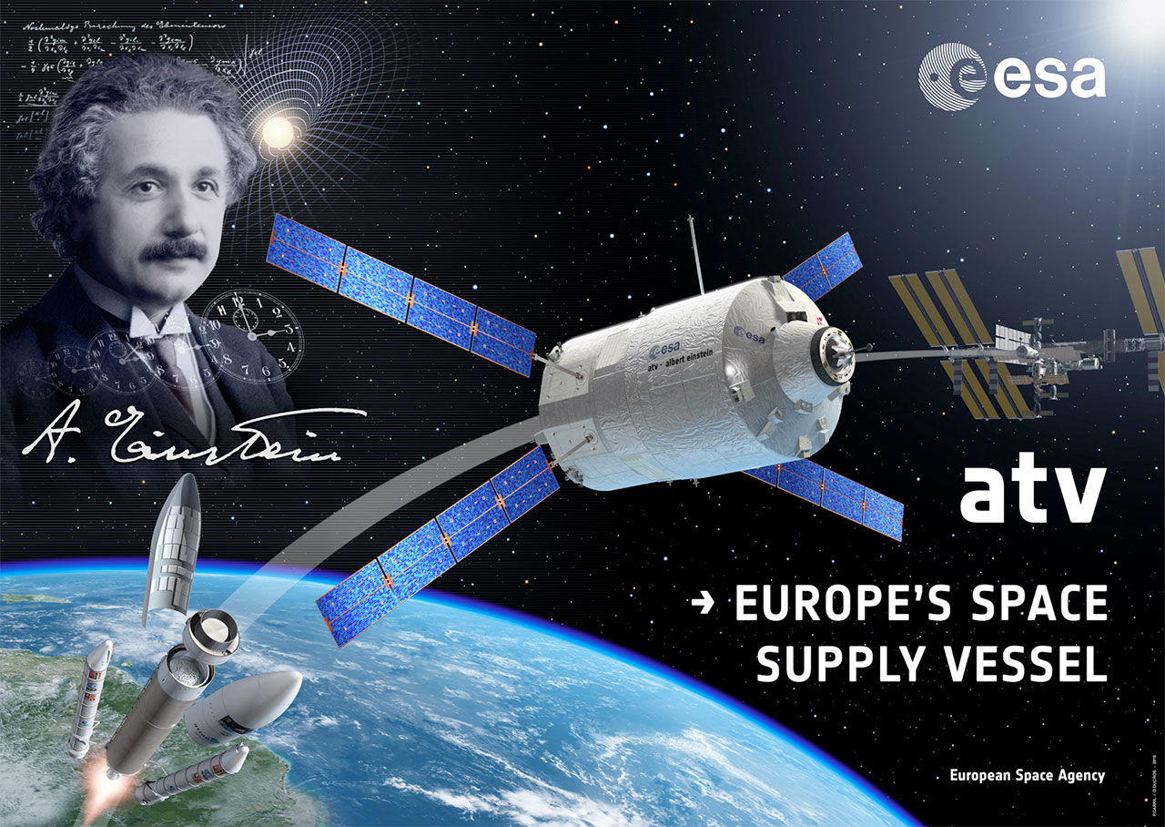 European Space Agency's 4th Automated Transfer Vehicle