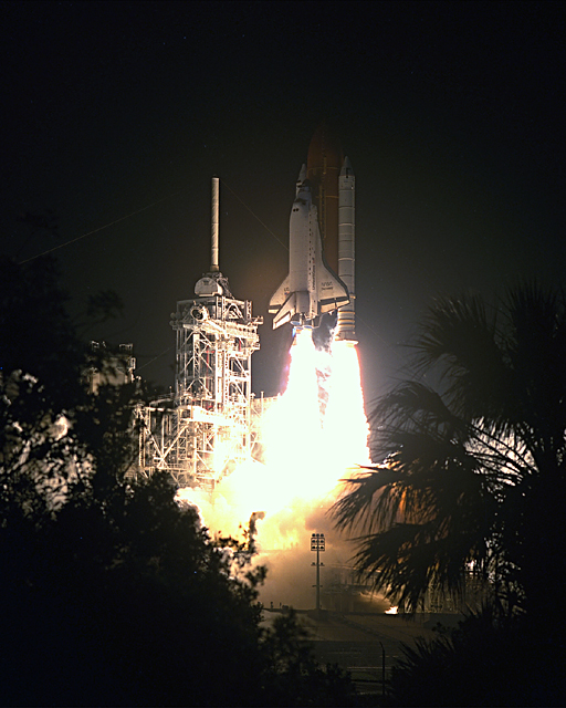 Space History Photo: STS-56 Launch