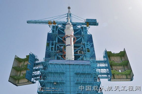 China's next piloted space mission, Shenzhou 10, will carry three astronauts to a now-orbiting space module.