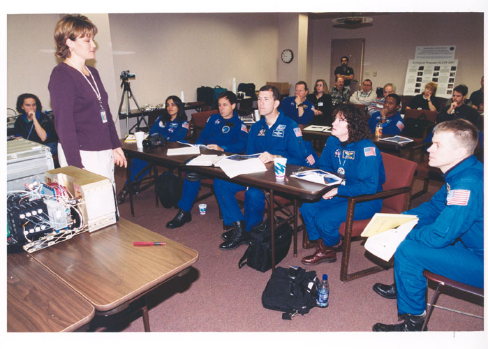 Space History Photo: STS-107 Classroom Training