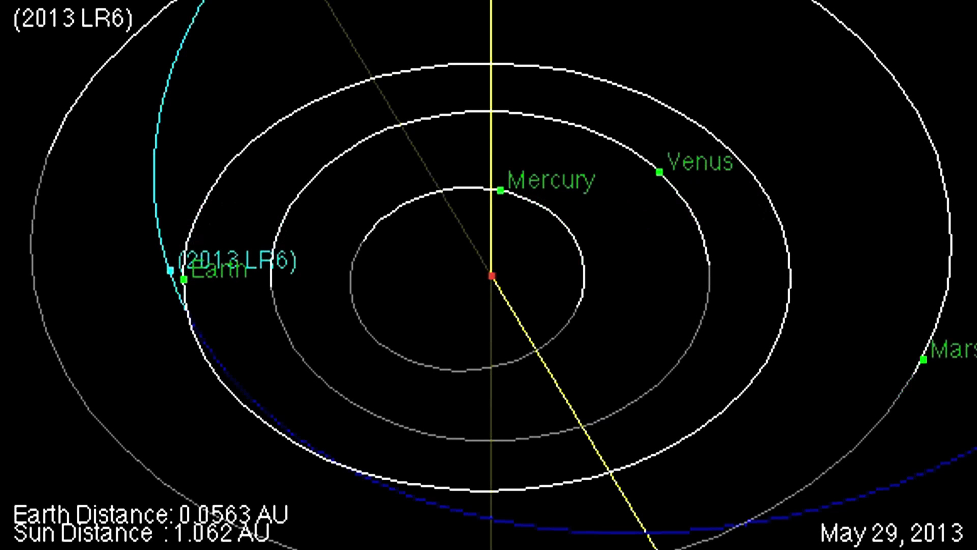 Asteroid to Fly Within Moon's Orbit Tomorrow: Watch It ...