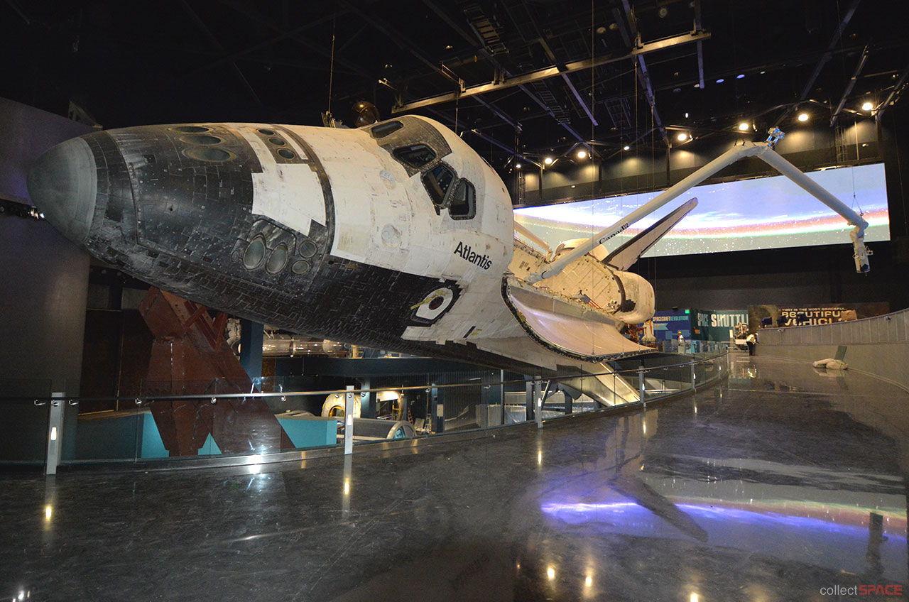 Space Shuttle Atlantis Exhibit Enters Final Countdown to Launch