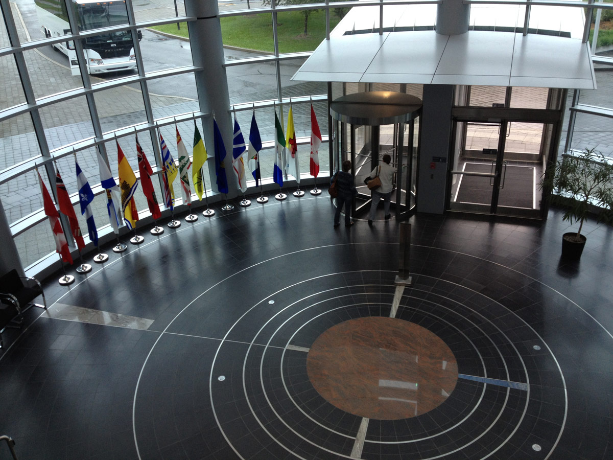 Canadian Space Agency Lobby