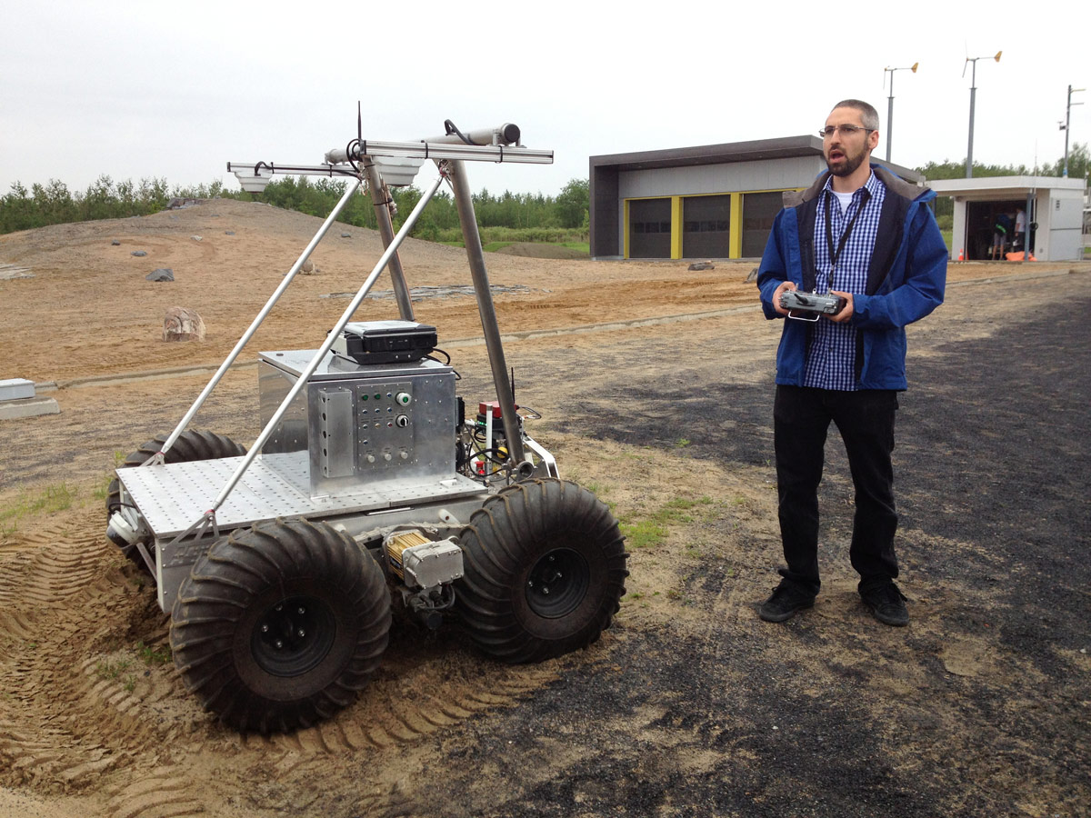 Testing the Juno Rover