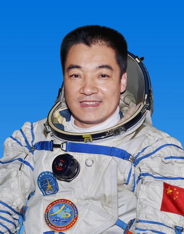Chinese Astronaut Zhang Xiaoguang
