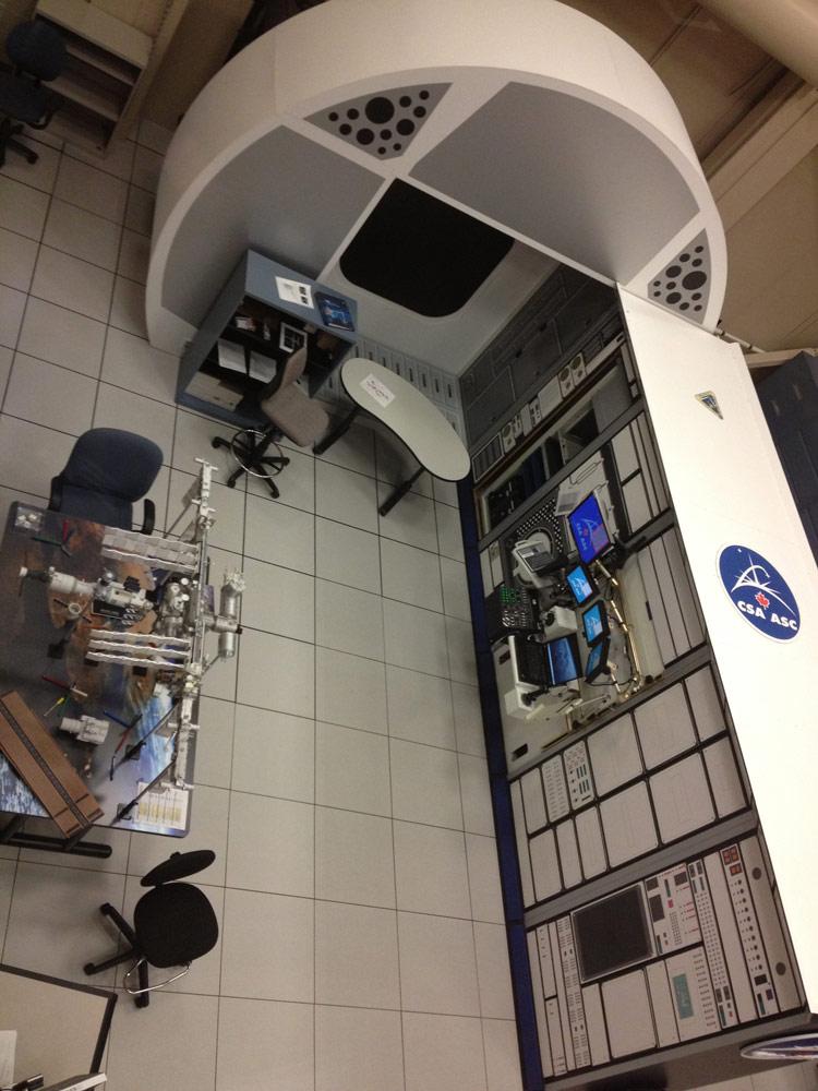 Astronaut Robotics Training