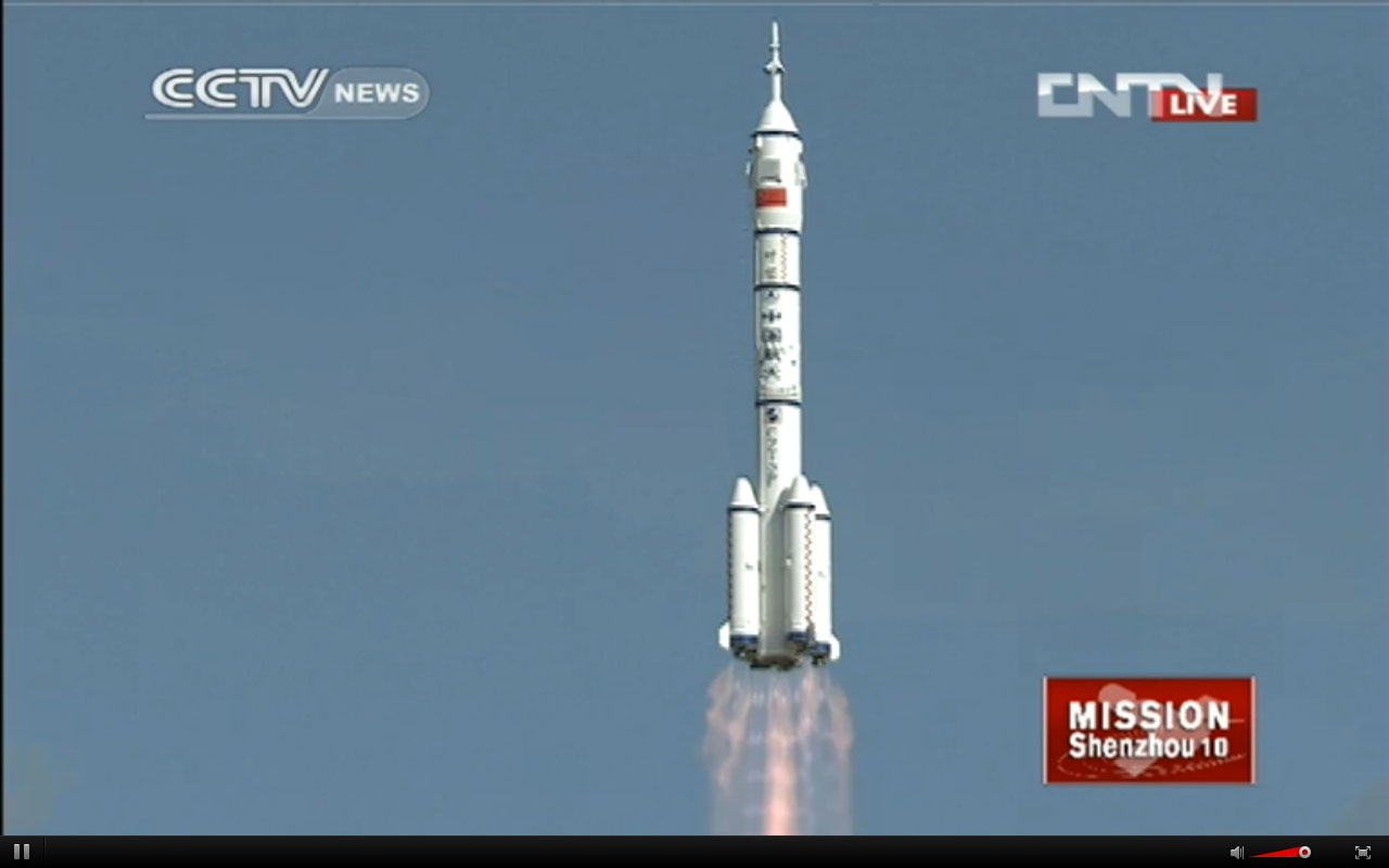 China's Shenzhou 10 Mission in Photos