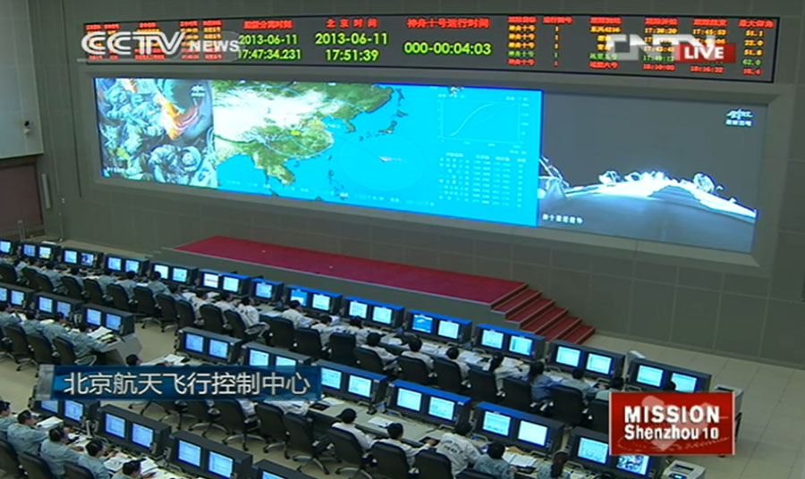 China's Mission Control