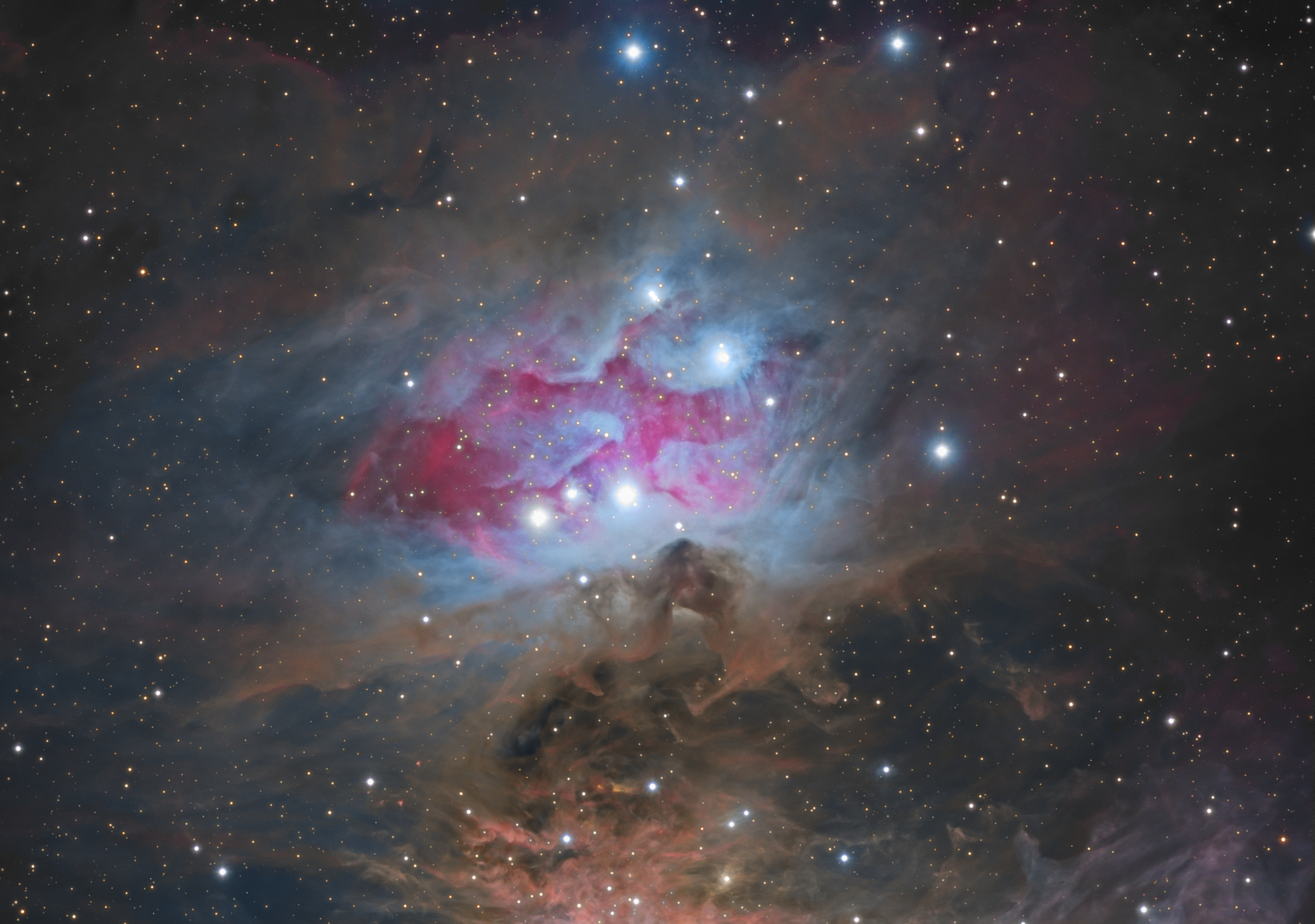 'Running Man' Races in Spectacular Nebula Photo