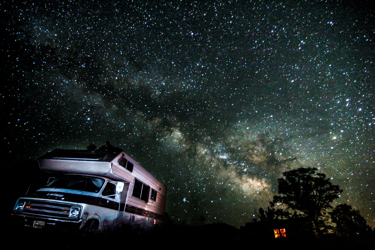 RV to the Milky Way