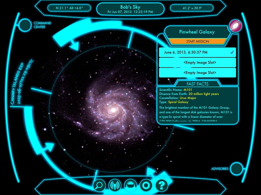 Snap Your Own Telescope Photos on New iPad App