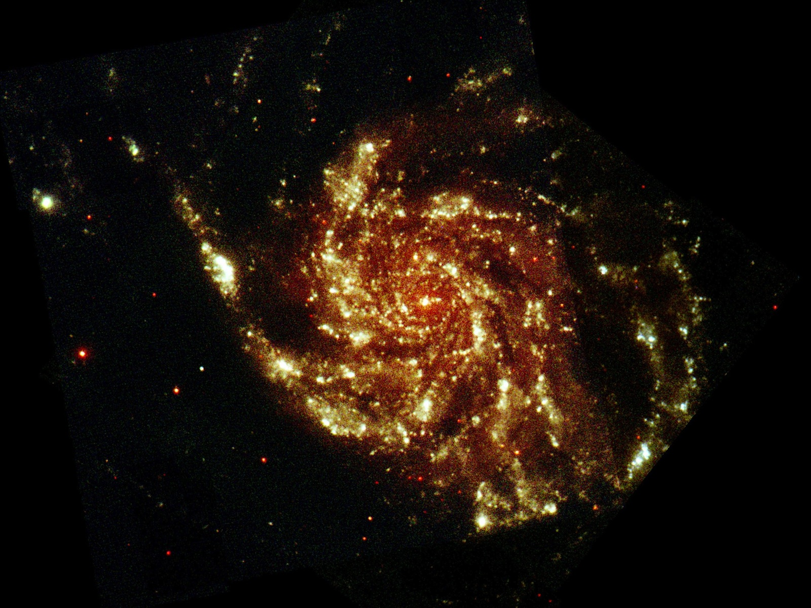 M 101 Pinwheel Galaxy space wallpaper