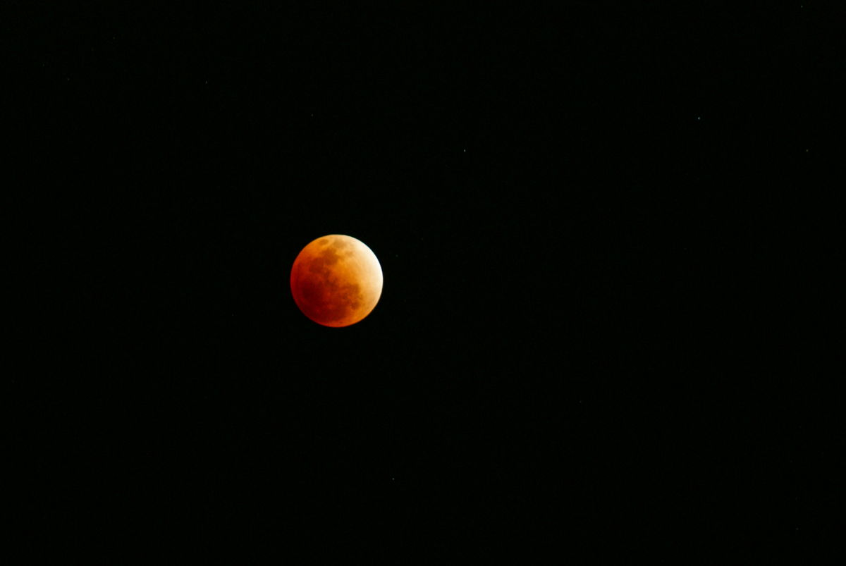 Lunar Eclipse of December 2011 Seen in India