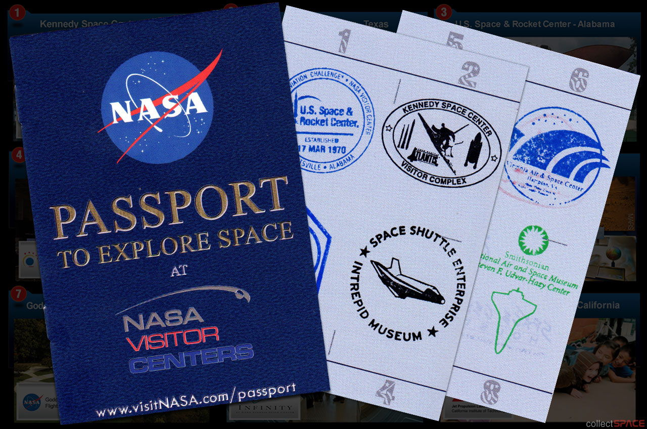 NASA Visitor Centers Launch New Passport for Space Tourists
