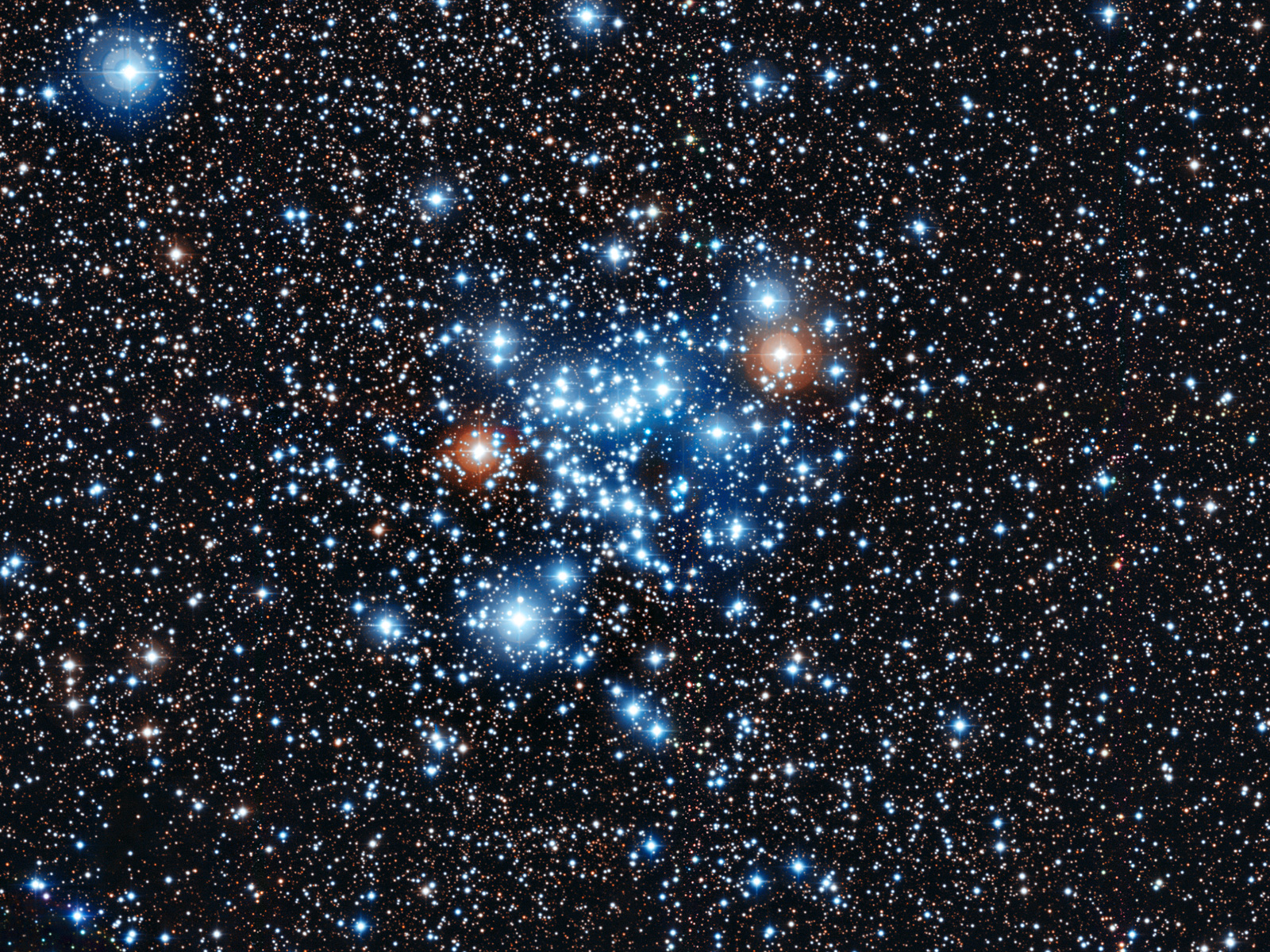 NGC 3766 Star Cluster space wallpaper