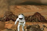 Challenges ahead for human explorers of Mars given the toxic nature of perchlorates that are pervasive on the red planet.