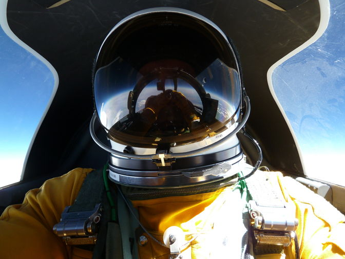 Tom Ryan's High-Altitude Self-Portrait