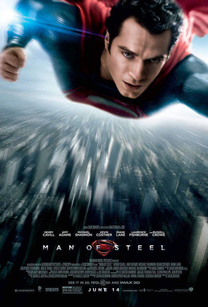 "Get Your Summer Superhero Fix with ""Man of Steel"""