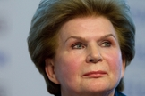 Valentina Tereshkova turned 76 on March 6, 2013.