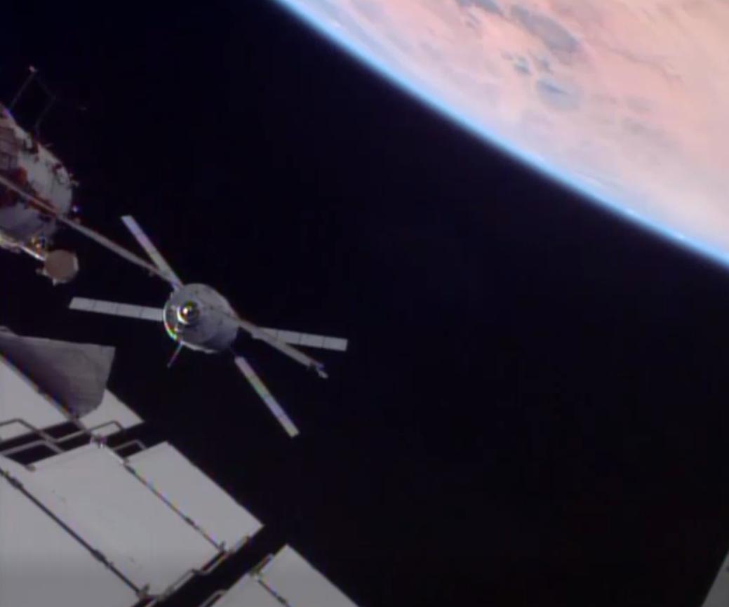 Robotic ATV-4 Albert Einstein to ISS