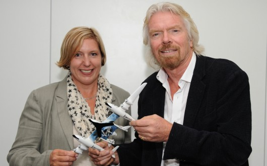Virgin Galactic Signs Female Space Tourist as 600th Customer