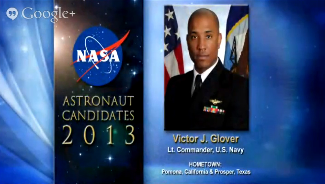 Astronaut Candidate Victor J. Glover