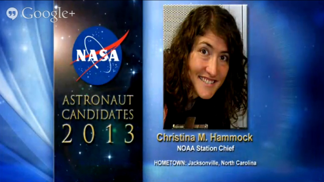 Astronaut Candidate Christina M. Hammock