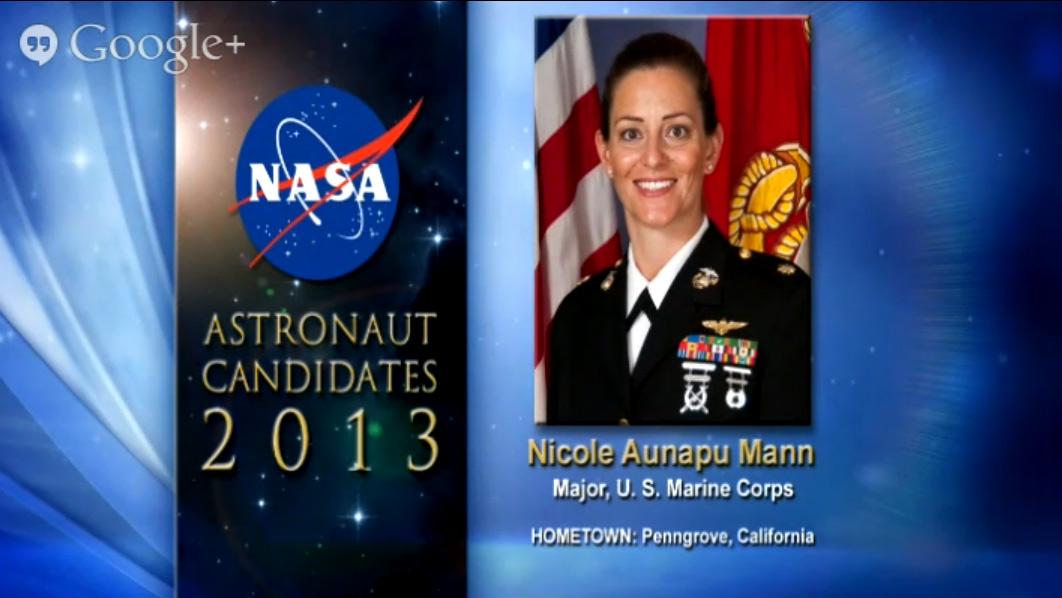 Astronaut Candidate Nicole Aunapu Mann