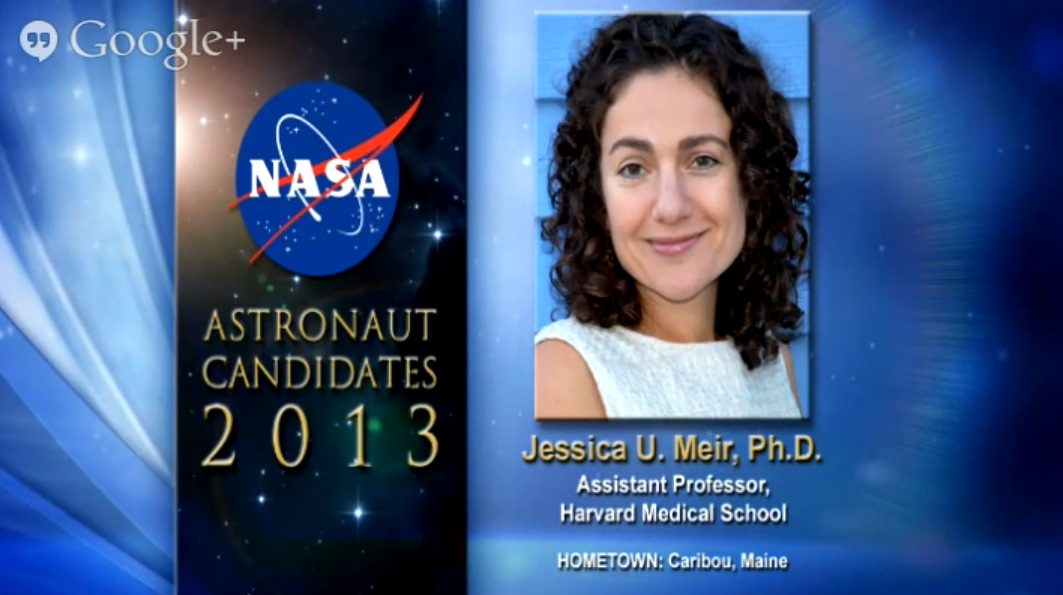 Astronaut Candidate Jessica U. Meir
